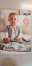 Patons Pattern Book #1104 Peaceful Designs 13 Designs to Knit & Crochet