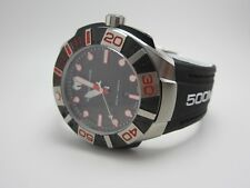 TECHNOMARINE 513002 MENS BLACK FACE DIVERS WATCH