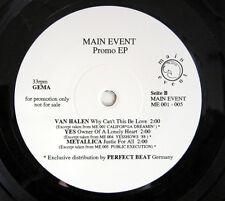 Single EP / PROMO / VAN HALEN / METALLICA / YES / ROBERT PLANT / BRYAN ADAMS /