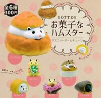 Sweets GOTTE hamster all 6set mascot capsule Figures Complete