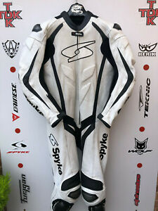 Spyke Blaster 1 piece race suit with hump uk 44 Euro 54
