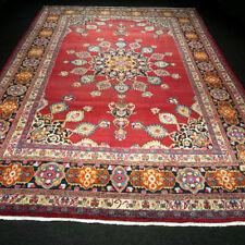 Orient Teppich Rot 357 x 251 cm Perserteppich Handgeknüpft Red Carpet Rug Tapijt