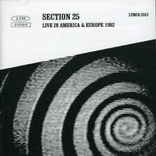 Section 25 - Live In America and Europe 1982 [CD]