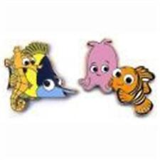 2015 Finding Nemo & Gang Tad, Sheldon, Nemo, Pearl Disney 2 Pin Set 108605