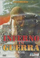 Dvd **UOMINI CONTRO ♦ INFERNO IN GUERRA ♦ WAR ZONE** nuovo sigillato 1988