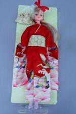Takara Jenny Barbie in Kimono on Card