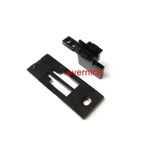 Needle Plate & Feed Dog For Juki Lh-515 Singer 112W 212W,Consew 327 332 2-Needle