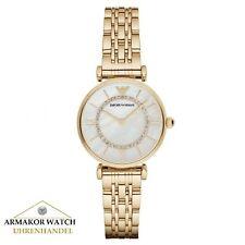 Original EMPORIO ARMANI AR1907 Gianni T-Bar Damen Uhr Chronograph NEU & OVP
