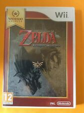 JEU NINTENDO WII @@ THE LEGEND OF ZELDA @@  TWILIGHT PRINCESS @@ COMPLET @@ PAL
