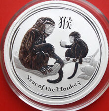 Australien: 50 Cents 2016 Silber 1/2 Oz Year of the Monkey 2016, #F 2558