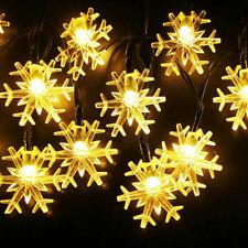 80 Led Solar String Lights Solar Powered Christmas Fairy String 40FT Lamp 2020