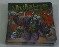 Dealer's Lot of 46 comic promo cards ~ 2010 DC VILLAINS Month