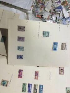 Guatemala stamps 1886 onward 43 leaves cxGG
