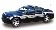 North Carolina Highway Patrol or NC Trooper Lindberg 1/24 scale model Police car