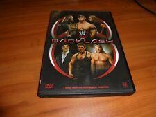 WWE - Backlash 2006 (DVD, 2006) Used John Cena Vs Triple H Vs Edge OOP