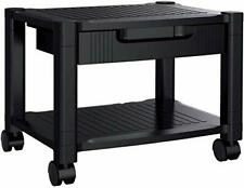 Printer Stand Under Desk Printer Stand With Cable Management Amp Storage Draw
