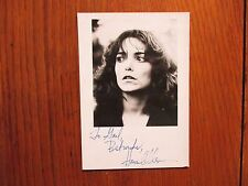 "KAREN  ALLEN (""Indiana Jones/Raiders of the Lost Ark"") Signed  4 x 6  B&W  Photo"