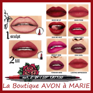 Pen Felt Lips Lip Tattoo Liner Semi Permanent Avon: Ultra Long Holding