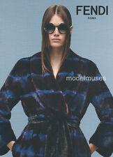 FENDI Pre-Fall 2016 Womenswear & Accessories LOOKBOOK Vanessa Moody FUR Leather