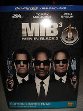 MEN IN BLACK 3 FNAC EXCLUSIVE 3D BLU RAY + ALIEN FIGURE LIMITED BRAND NEW SEAL