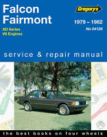 Ford Falcon XD V8 1979-1982 Gregory's Repair Manual