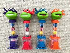 MUTANT NINJA TURTLES Kaugummi Spender Candy Despenser SET Gumball USA 1991 TMNT