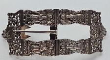 Silver 19th Century Dutch YOM KIPPUR SERVICE Belt Buckle Shreve Crump & Low Co.