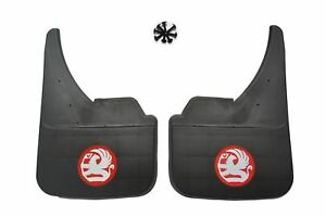 Universal Car Mudflaps Front Rear Vauxhall Red Astra Corsa Vectra Insignia New