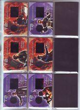 TERMINATOR 2 . PIECEWORKS / FILMCELL SET OF 6 . ARTBOX 2003