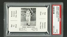 1936 S AND S BASEBALL  MIKE KREEVICH  GREEN BACK   PSA 9 MINT  WHITE SOX   MLB
