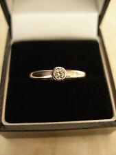 18 CARAT DIAMOND SINGLE STONE RING G COLOUR VS PURITY BRAND NEW IN BOX QUALITY