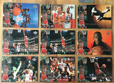 1994 Upper Deck Michael Jordan Decade Of Dominance J1 J2 J3 J4 J6 J7 J8 (2x) J9
