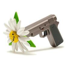 "Kidrobot Travis Cain Bffs Killer & Daisy 3"" Gun Flower Will Make You LOL! Peace"