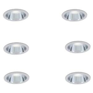 Commercial Electric 6 in. R30 Clear Recessed Reflector Trim (6-Pack)