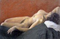 Dreaming (Fine) by Italian Antonio Sicurezza. Fine Art Repro on Canvas or Paper