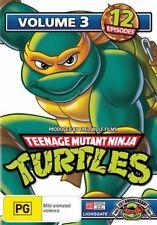 Teenage Mutant Ninja Turtles : Vol 3 (DVD, 2009)