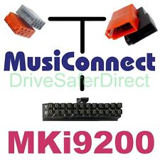 MC9800 MusiConnect non SOT Parrot MKi9200: ISO vehicles