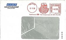AUTO CARS TRUCKS -  AUTOMATIC POSTMARK on COVER -  ITALY 1963 : FIAT IVECO