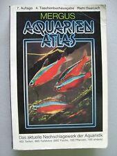 Mergus Aquarienatlas aktuelle Nachschlagewerk der Aquaristik Aquarium 1988