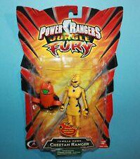 Power Rangers Jungle Fury Cheetah Yellow Ranger Action Figure NEW Factory Sealed