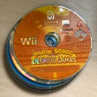 MARIO & SONIC OLYMPIC GAMES  DISC ONLY NINTENDO WII FREE P&P SAME DAY DISPATCH