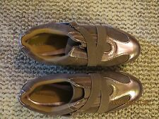 Womens Stylish Gray/Copper Solesensible slip on Shoe,Size 7, Excellent Condition
