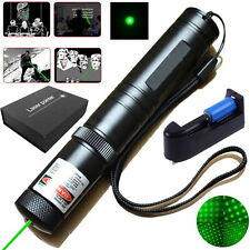 High Power 1mW 532nm Green Laser Pointer Light Pen Visible Beam Star Boxset Kit