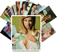 Postcards Pack [24 cards] Smoking Girls Tiparillo Vintage Tobacco Adverts CC1077