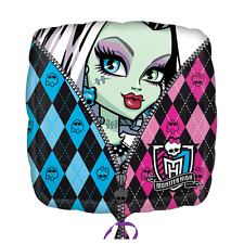"Monster High Girls 18"" Square Foil Balloon Childrens Party Decoration Tableware"