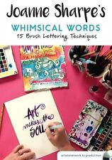 NEW! Joanne Sharpe's Whimsical Words: 15 Brush Lettering Techniques [DVD]