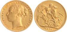 Australia, 1 Sovereign 1876 M, Victoria Young Head Ss