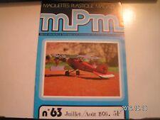 **b MPM n°63 Le Wasa / Brabham BT 44 B  / L'Albatross D III / L'aérographe