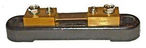 Ammeter Shunt for 60mV 60amp ammeter gauges         24682