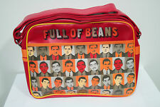 """Mr Bean 11"""" Messenger Bag - Full of Beans T55I2"""